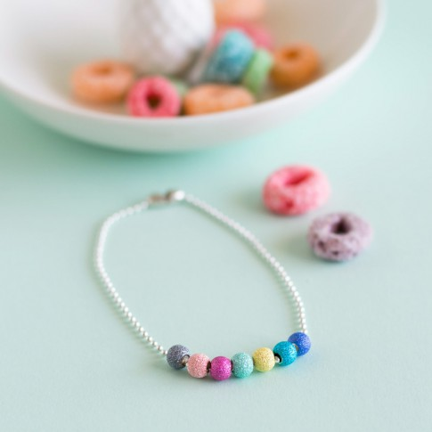 "Tobillera / pulsera ""Happiness"""