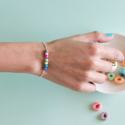 Pulsera Happiness Rainbow