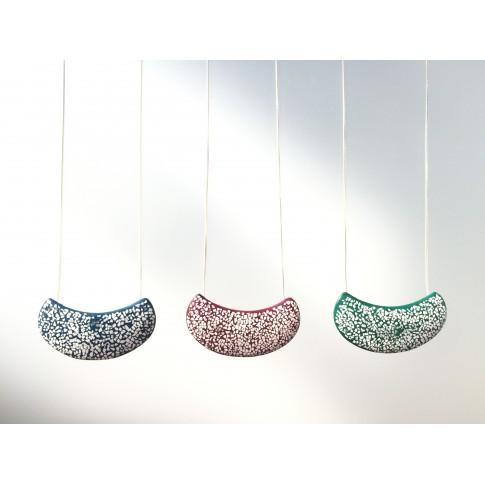 Collar laca japonesa mini mosaico