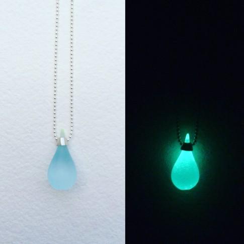 Mini gota fluorescente