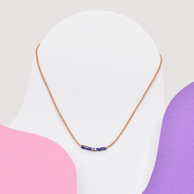 Colgante minimalista azul marino
