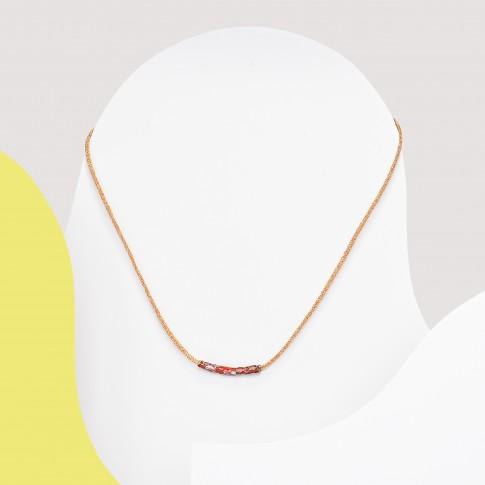 Colgante minimalista rojo