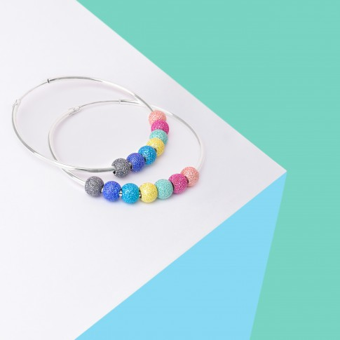Pendientes Happiness Rainbow