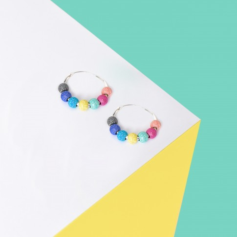 Pendientes Happiness Rainbow minis
