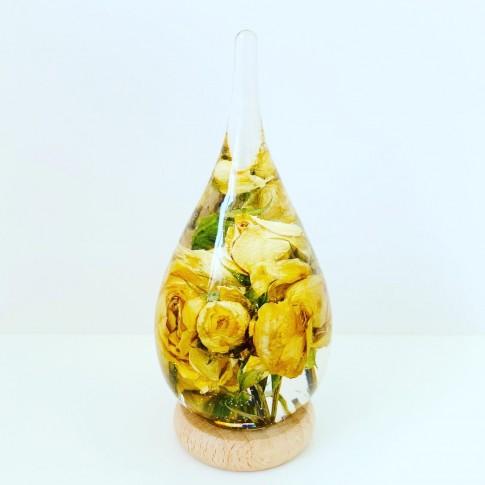 Maxi gota con rosas amarillas