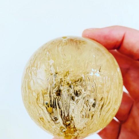 Maxi esfera estrias con diente de león