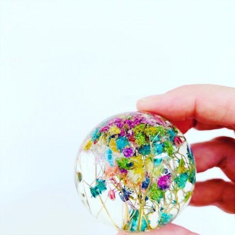 Midi esfera con paniculata arcoiris