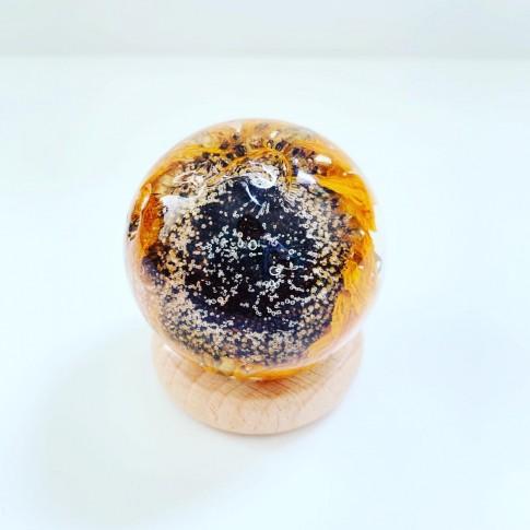 Midi esfera con girasol