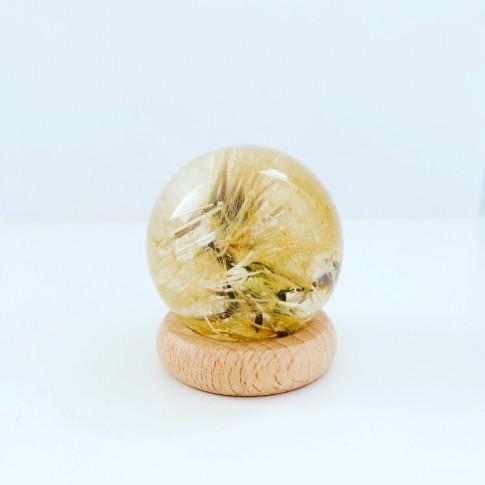 Midi esfera con diente de león 1