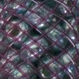 Granate + turquesa metalizado