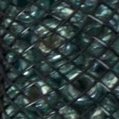 Negra + turquesa metalizado